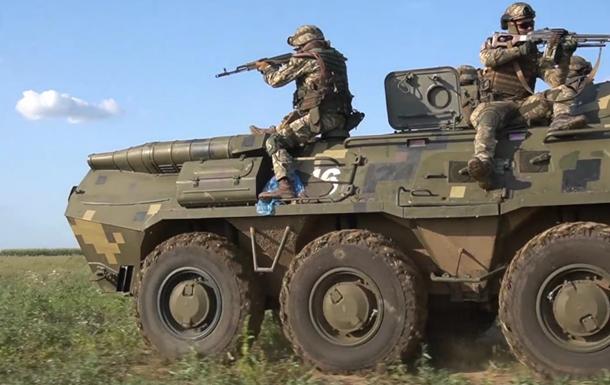 Возле Крыма прошли учения с участием резервистов