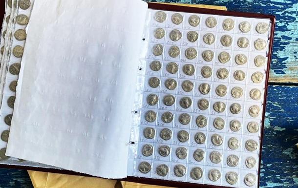 На кордоні з Молдовою вилучили колекцію старовинних монет