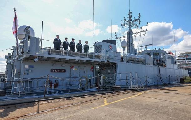 Британія оголосила про передачу двох кораблів Україні