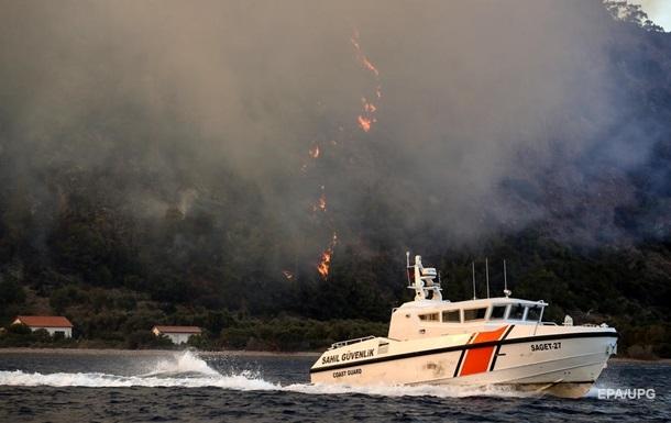У Туреччині через пожежу евакуювали українських туристів