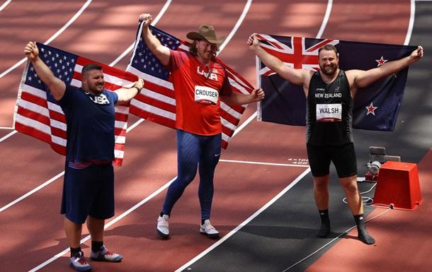 Уперше на Олімпійських іграх зберігся п єдестал