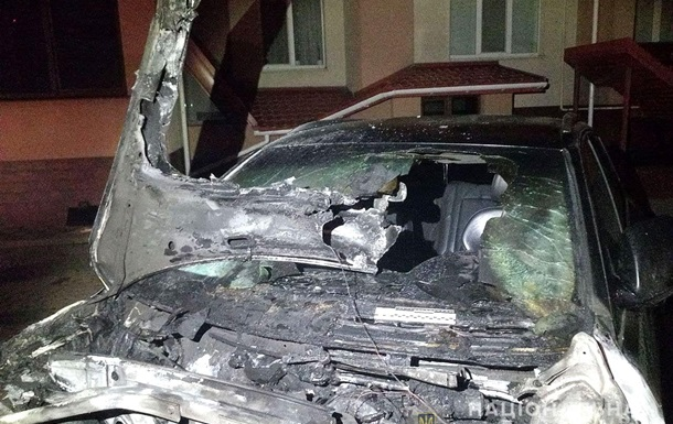 Сожгли автомобиль депутата Ровенского облсовета