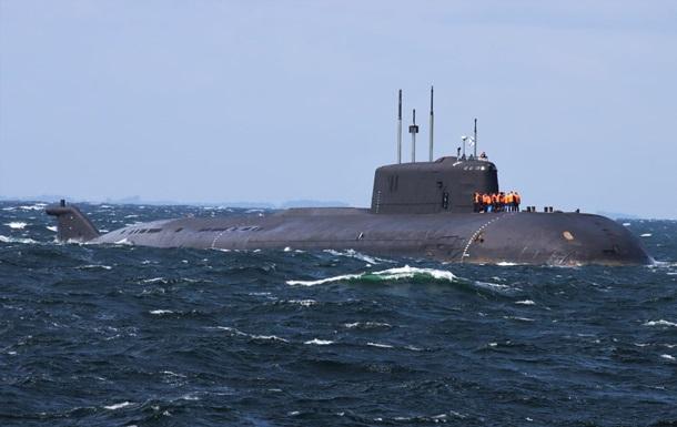 Атомна субмарина РФ втратила хід біля берегів Данії