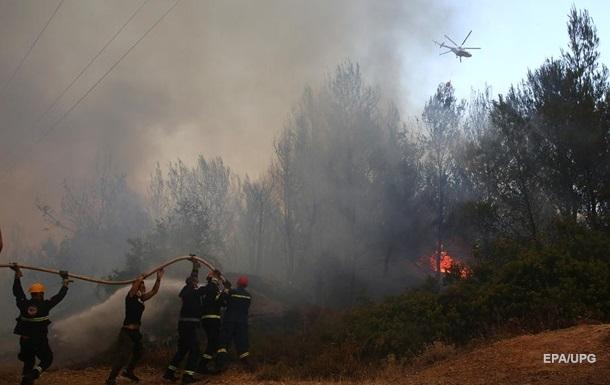 Украина направит в Грецию сотню пожарных