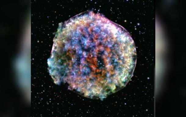 Уперше зафіксовано момент вибуху наднової зірки