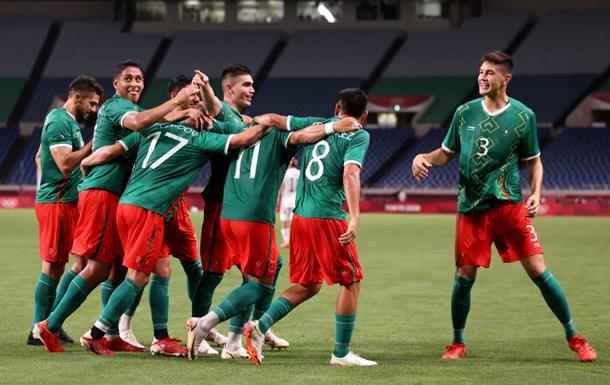 Мексика у футболі бронзовий призер Олімпіади-2020