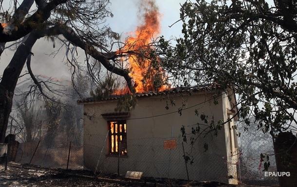 Греция горит. Пожары выходят из-под контроля