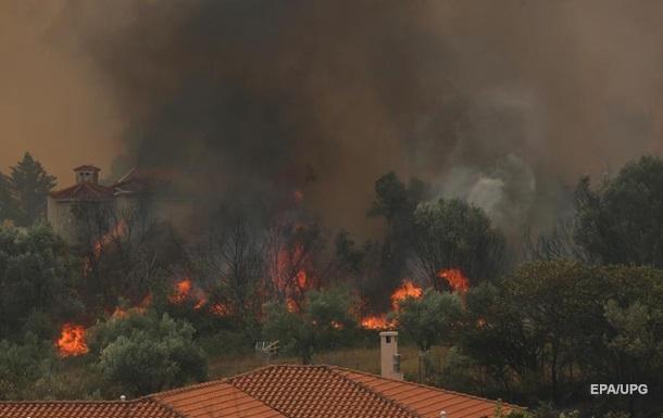 Пожежі в Європі: МЗС рекомендує утриматися від поїздок у деякі райони