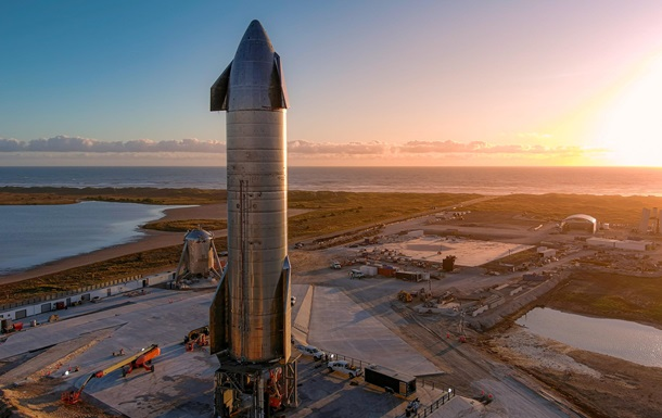 SpaceX собрала самую большую ракету Starship