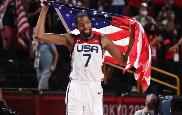 Сборная США - олимпийский чемпион по баскетболу