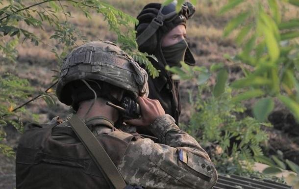 ООС: позиції ВСУ були обстріляні, є втрати