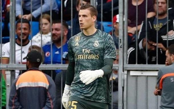 Лунин - в заявке Реала на матч с Миланом