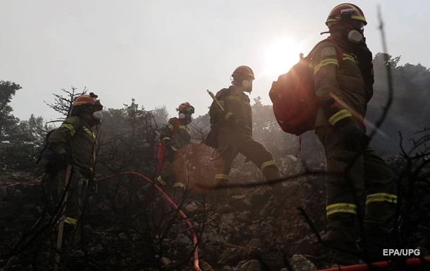 Лісові пожежі Греції: за десять днів згоріло більш як 56 тисяч гектарів