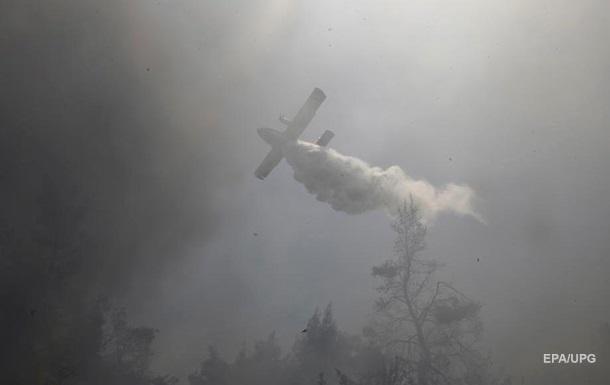 В Греции разбился самолет пожарных
