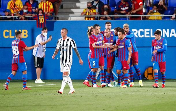 Барселона розгромила Ювентус в поєдинку за Кубок Гампера