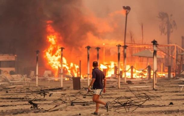 В Італії застерігають щодо ще однієї хвилі спеки і нових пожеж