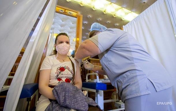 В Україні за добу знизився темп вакцинації