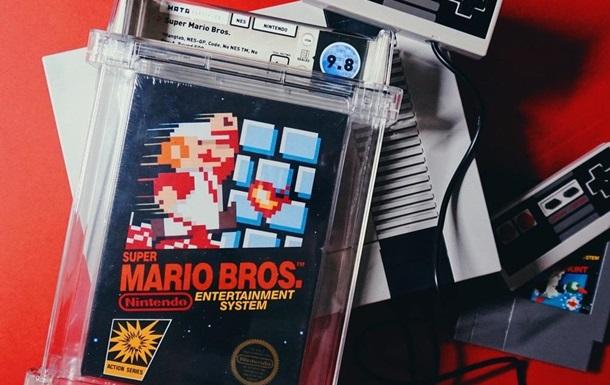 Картридж с игрой Super Mario Bros. ушел с молотка за рекордные $2 миллиона