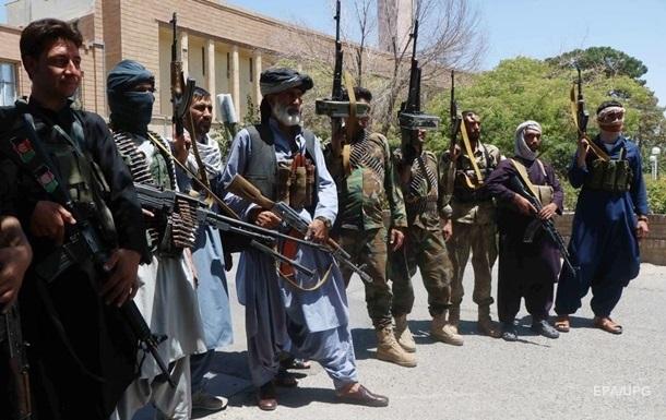 Таліби взяли під контроль шосту столицю провінції в Афганістані