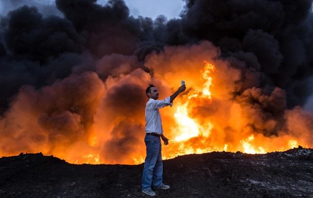 Лесные пожары в Алжире: четверо погибших