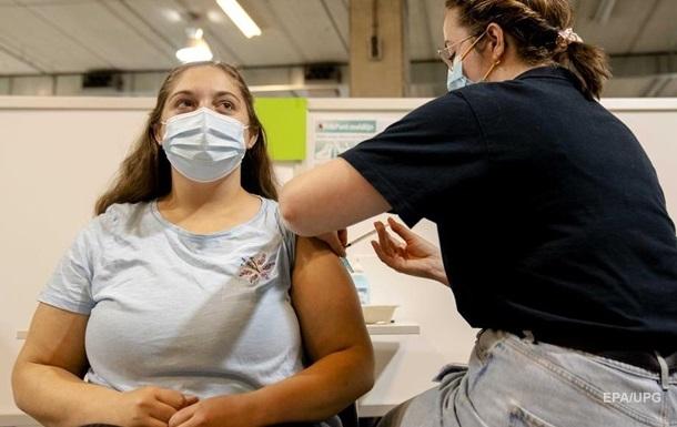 За добу вакциновано 140 тисяч українців