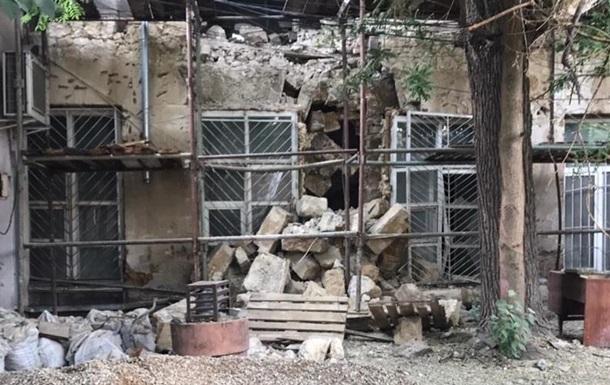 У Сімферополі завалилася історична будівля