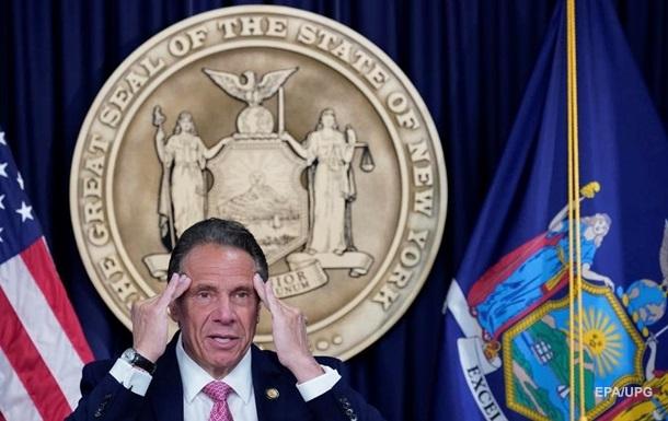 Губернатор штату Нью-Йорк оголосив про відставку