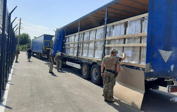 ООН відправила 20 вантажівок гуманітарки на Донбас