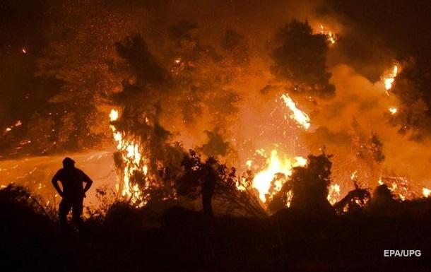 У Греції затримано більше 100 осіб за підпали лісів