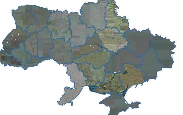 На кадастровій карті України позначили межі територіальних громад