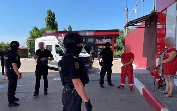 Затримали розкрадачів газу з вагонів-цистерн