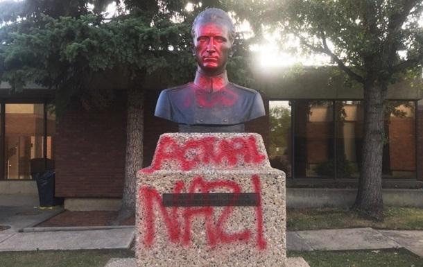 У Канаді осквернили пам ятник головному командиру УПА