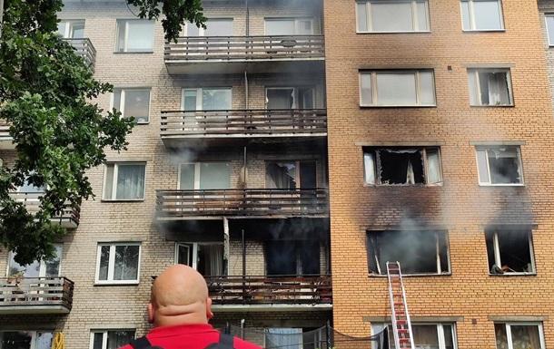 Вибух у житловому будинку в Естонії: є жертви