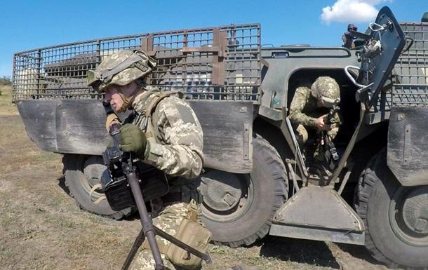Бійці Об єднаних сил ЗСУ провели навчання
