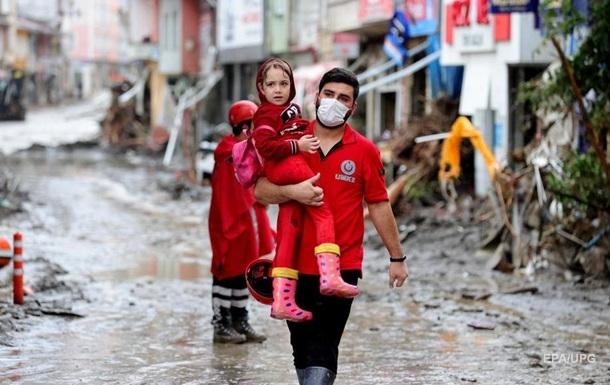 Повінь у Туреччині: кількість жертв збільшилася