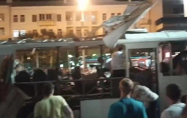 Названа причина вибуху автобуса у Воронежі