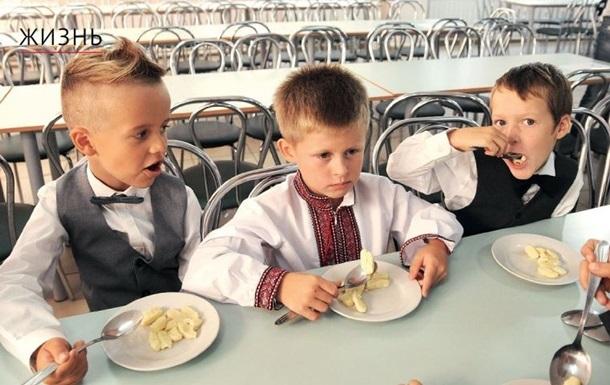 Украинские школьники потребляют сахара втрое больше нормы