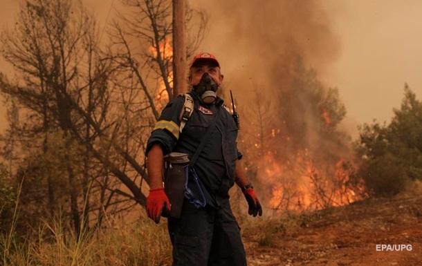 У Греції на острові Евбея спалахнула нова пожежа