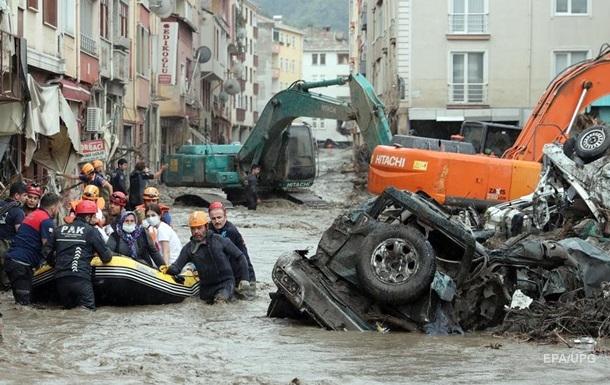 Затоплені регіони Туреччини оголосили зоною лиха