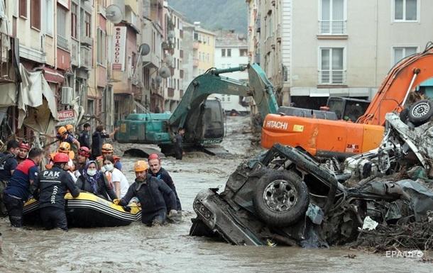 Зеленський висловив співчуття Туреччині в зв язку з жертвами через повінь
