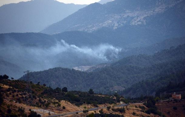 В Турции разбился пожарный самолет