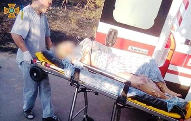 На Миколаївщині пенсіонерка палила сміття і потрапила в лікарню