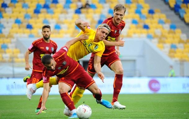Львів та Олександрія не змогли виявити переможця в матчі УПЛ