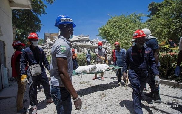Кількість жертв землетрусу на Гаїті збільшилася втричі