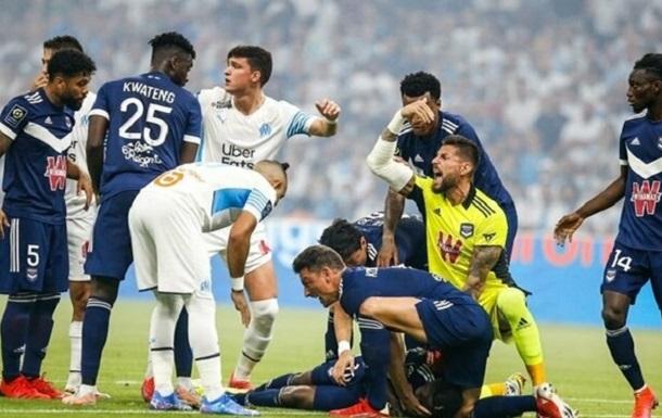 Гравець Бордо знепритомнів під час матчу чемпіонату Франції