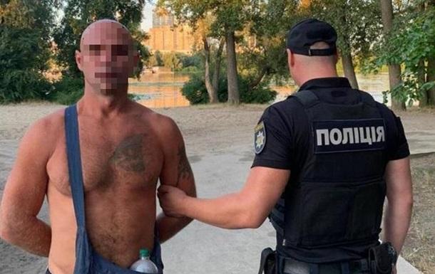 У Києві затримали грабіжника-рецидивіста
