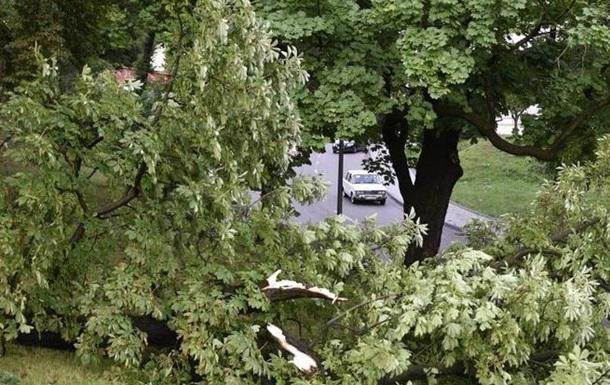 Львів накрив ураган з грозою