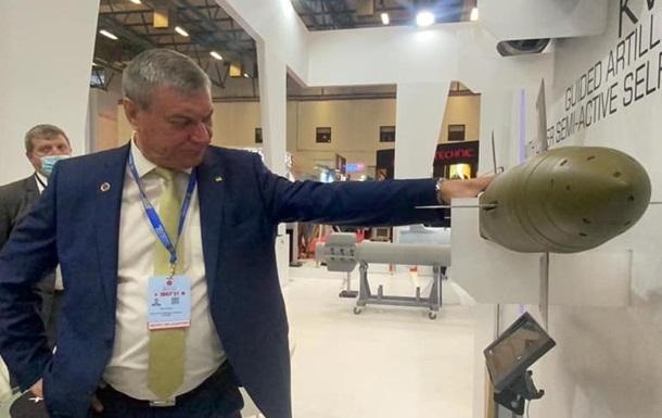 В Стамбуле открылся украинский стенд вооружений