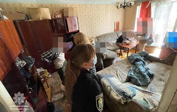 В Тернополе пьяный отец морил голодом ребенка-инвалида