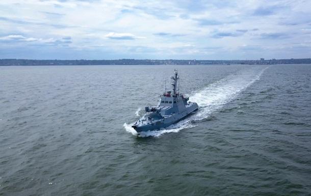 ВМС провели навчання з оборони узбережжя Азовського моря